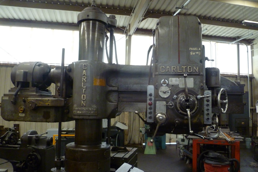 Carlton Radio Arm Drill Press